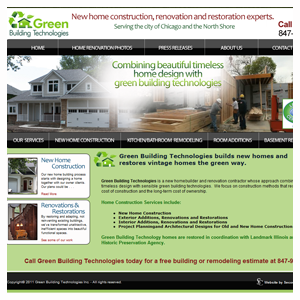 Chicago Web Design Green Building