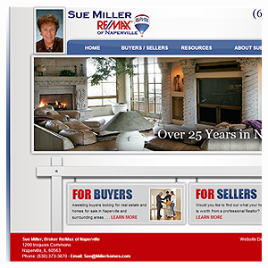 Naperville Web Design, Miller Homes